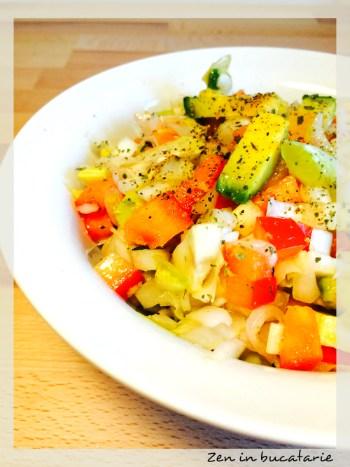 Salata de andive si avocado
