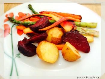 legume crocante la cuptor