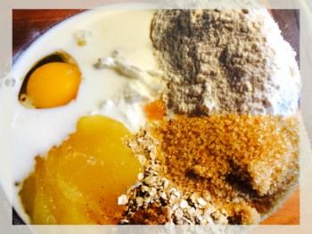 briose cu iaurt grecesc, ovaz si afine