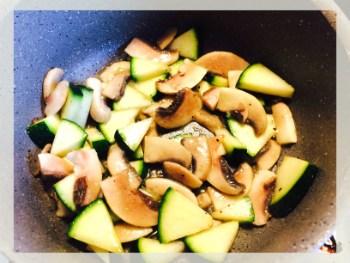 quesadilla cu pui si legume