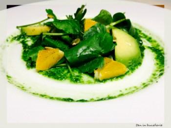 salata de untisor cu avocado si portocale