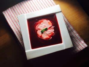 supa crema de sfecla rosie si dovleac