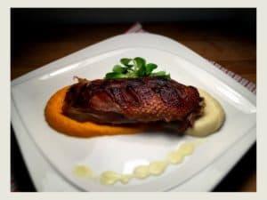 rata la cuptor cu piure de morcovi si pastarnac