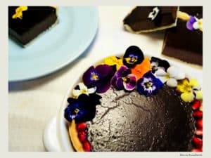 tarta cu ciocolata neagra