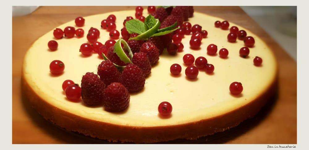 cheesecake cu ricotta si mascarpone