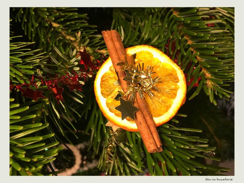 decoratiuni cu portocala si scortisoara