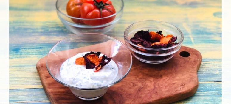 Crema de branza de vaci si iaurt grecesc